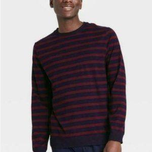 Goodfellow & Co Men's Stripe Long Sleeve Elevated